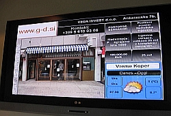 Digital signage preview